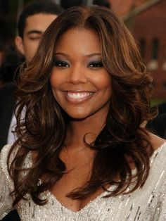 Gabrielle Union with Light Brown Hair