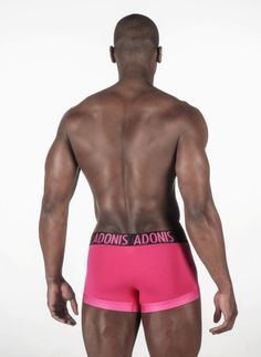 Made for the type of guy who wants to feel and look sexy without overdoing it, our Perfect Fit Pink Boxer Trunks can be worn anywhere! This bold new style features our wide elastic waistband for a body defining, comfortable wearing experience. http://adonisunderwear.com