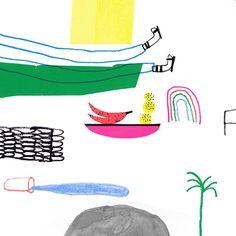 A piece of a #wip that is a very cool collab! ✂️✏ #riso #print #printsnotdead #illo #illu #illustration #illustratorsofinstagram #illustratorslife #poster #posteriso