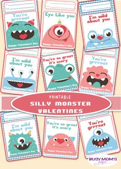 Silly Monster Valent