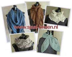 Sjaal breien breipatronen gratis voor de beginner tot gevorderde breier #knitting #breien #DIY