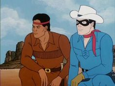 The Lone Ranger and Tonto Classic Cartoon Characters, Classic Cartoons, School Cartoon, Cartoon Tv, Childhood Tv Shows, My Childhood Memories, Star Wars Merchandise, Cowboy Outfits, The Lone Ranger
