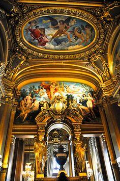 Palais Garnier Opéra de Paris France by mbell1975, via Flickr