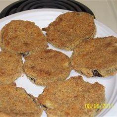 Baked Fried Eggplant Allrecipes.com