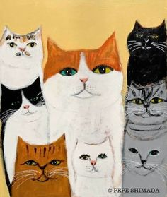 """"""" Happy Life of a cat """" 