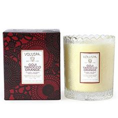 #trend An exotic blend of evergreen #goji berries layered with scintilating blood orange essences. This vibrant red woven throughout the pattern is simply luxuri...
