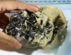 837 Tourmaline ,mica ,Shist specimen  PPP54