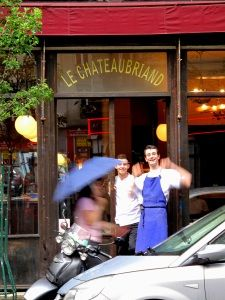 15 Le Chateaubriand (Paris, France) This top-rated restaurant is also the best place to have dinner in Paris under 50 euros. Chef Inaki Aizpitarte: 'I don't want to only have rich patrons. I want a place where my friends can come from time to time; a place they can afford. So it's really important for me to have both affordability and creativity'. Amen.