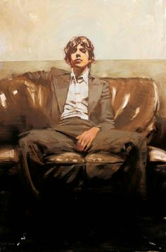 Michael Carson - Contemporary Artist - Figurative Painting - Before The Music contemporain Michael Carson Figure Painting, Painting & Drawing, Painting Abstract, Acrylic Paintings, Abstract Landscape, Pastel Paintings, Abstract Sculpture, Oil Paintings, Painting Inspiration
