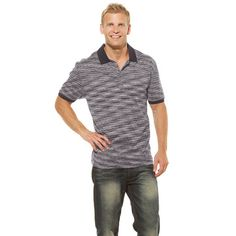 James Polo Shirt Charcoal, at 85% off!