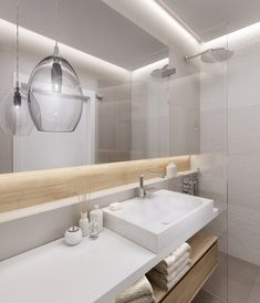 indirekte Beleuchtung an Wand und Decke