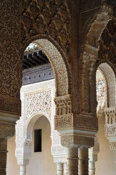 Alhambra Granada Spain Islamic Architecture, Classical Architecture, Amazing Architecture, Architecture Design, Alhambra Spain, Granada Spain, Andalucia Spain, South Of Spain, Oriental Style