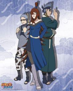 Poster affiche Naruto Shippuden Team Mizukage