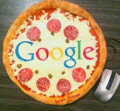 Google pizza !!! #google #pizzart #by #sergiodeiana #sergio #deiana #pizza