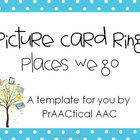 Places We Go (Community): Free Picture Ring Kit