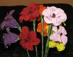The Art of French Beaded Flowers Doelp - Google Search
