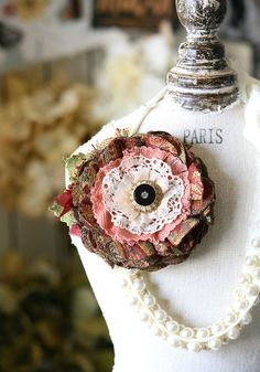 Hey, I found this really awesome Etsy listing at https://www.etsy.com/listing/215752724/gift-for-mom-fabric-flower-pin-corsage