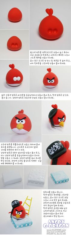 how to: angry bird