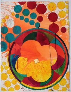 Color Works on Paper Nz Art, Quatrefoil, It Works, Abstract, Paper, Painting, Color, Summary, Painting Art