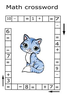 Math riddle for kids Math riddle for kids,Math worksheets Use this math riddle to challenge and engage your kids. Teach your child math with fun. Creative Activities For Kids, Preschool Learning Activities, Math For Kids, Puzzles For Kids, Kindergarten Math, Preschool Activities, Teaching Kids, Teaching Reading, Kids Math Worksheets
