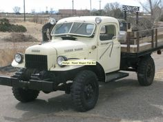 Here is a great looking 1946 Dodge Power Wagon that was for sale on eBay.