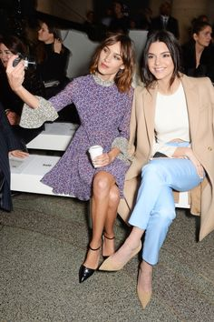 Alexa Chung and Kendall Jenner: proof even celebs can look ridiculous taking selfies. See 90 more examples.