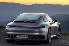 The 2020 Porsche 911 Carrera is finally here. Code-named this is the eighth new version of the 911 in this benchmark sports car's history. It makes its debut in Carrera form and as you probably guessed, it's a big deal. Porsche 911 Carrera 4s, Porsche Panamera, 996 Porsche, Porsche Autos, Porsche 911 Turbo, Porsche Cars, Porsche 2019, Carrera Cars, Black Porsche