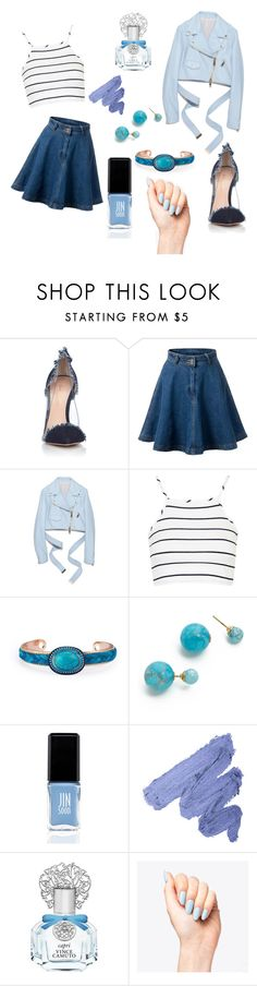 """Summer"" by alishayu on Polyvore featuring Gianvito Rossi, Topshop, Amber Sceats, JINsoon and Vince Camuto"