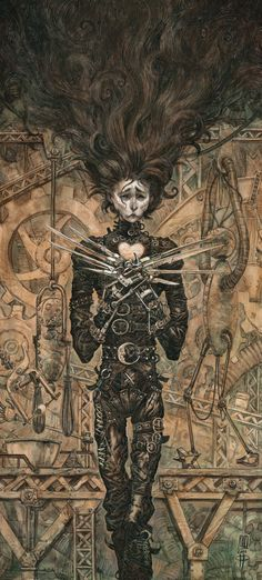 """roberto ricci's tribute for """"scissorhands 20th"""" (""""right click -> view image"""" for full view)"""