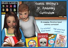 Anatomy curriculum human body study