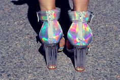 30 Best holo shoes images | Holographic fashion, Holo shoes
