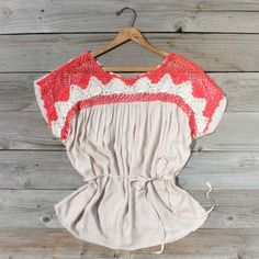 Sweet 70's Blouse, Sweet Country Inspired Clothing