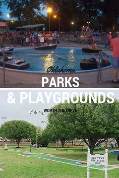 This summer head out to one of Oklahoma's many city parks that are filled with fun attractions like bumper boats, go karts, miniature trains and so much more.