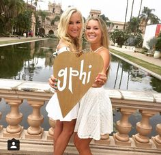USD Gamma Phi Beta, pictured: kelly, julie