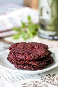 Vegan Vegetarian, Paleo, Real Food Recipes, Healthy Recipes, Taste Of Home, Beetroot, Deli, A Table, Steak