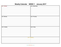 [ June Calendar Printable Templates Office Pdf Template Weekly Landscape Orientation Days ] - Best Free Home Design Idea & Inspiration Free Printable Weekly Calendar, Excel Calendar Template, Weekly Planner Template, Daily Calendar, Print Calendar, Calendar Ideas, Calendar 2017, Calendar Design, Calendar Printing