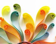 I have lots of quilling paper from years ago! Fun Crafts, Diy And Crafts, Arts And Crafts, Paper Crafts, Kirigami, Paper Quilling, Quilling Ideas, Art Projects, Projects To Try