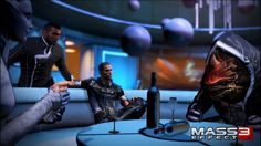 New Years Mass Effect Party Heats Up