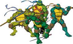 2003 TMNT (Donnie, Leo, Mikey, Raph)
