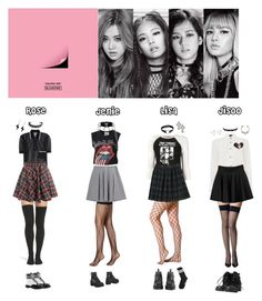 """BLACK PINK - BOOMBAYAH❤️"" by mabel-2310 ❤ liked on Polyvore featuring Miu Miu, Luis Morais, Tatty Devine, Yves Saint Laurent, Commando, French Toast, Nadri, Marsèll, Peony & Moss and Jeffrey Campbell"