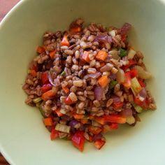 Salinha de Estar: salada de cevadinha