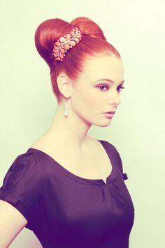 6 Beautiful Vintage Hairstyles by Sharon Blaine