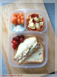 Lunch Made Easy: MOMables Monday - Chicken Salad Bento  #GlutenFree #NutFree @EasyLunchboxes @Laura Fuentes/ MOMables.com