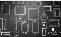 parede quadros tumblr | Parede de quadro negro: diversão garantida - Carinhas - Design ...