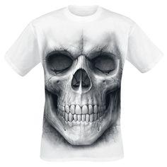 Spiral T-Shirt »Solemn Skull« | Jetzt bei EMP kaufen | Mehr Gothic T-Shirts online verfügbar ✓ Unschlagbar günstig!