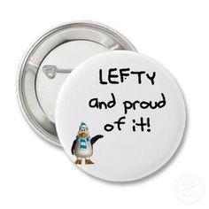 Happy Lefty Day! : )