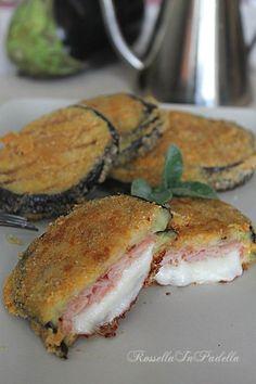 Cordon bleu di melanzane in padella o al forno ,una valida alternativa a quelli classici di carne