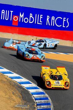 Porsche 917's en el Sacacorchos