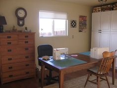 Sewing Table for two--cut into table top
