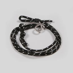 Stick 'n' Bindle Bracelet Black